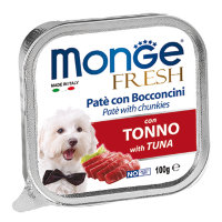 Monge Dog Fresh , тунец 100г