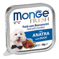 Monge Dog Fresh , утка 100г