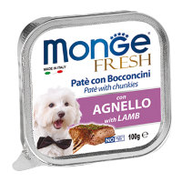 Monge Dog Fresh , ягненок 100г