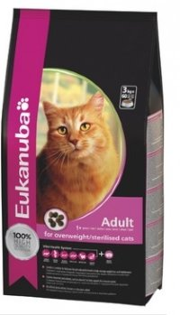 Eukanuba Sterilised - для  кошек 1,5 кг