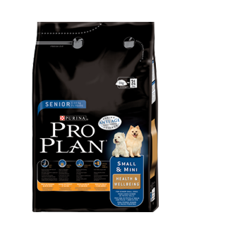 Pro Plan  Senior 7+ Small & Mini Health & Wellbeing