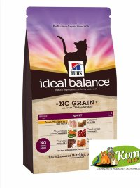 Hills  Ideal Balance Feline Adult NO GRAIN with Fresh Chicken and Potato-Беззерновой 3133