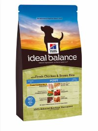 Hills Ideal Balance Puppy with Fresh Chicken & Brown Rice