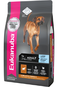 Eukanuba Adult Large Breeed - ягненок и рис